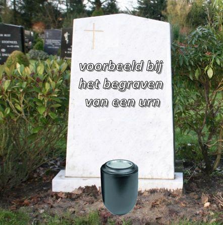 begraven zonder afscheid te kunnen nemen