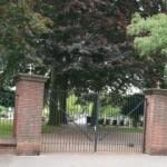 begraafplaats besterd